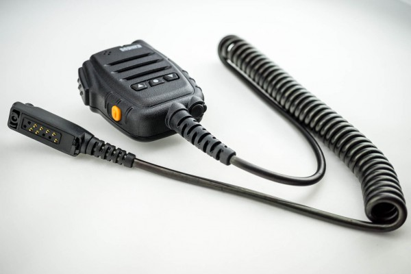 Mikrofon-Lautsprecher mit 3 Funktionstasten für Sepura STP8/9000