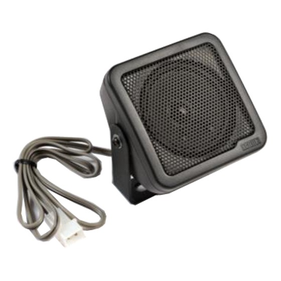 Lautsprecher 8 x 8 cm, 4 Ohm, 8 Watt