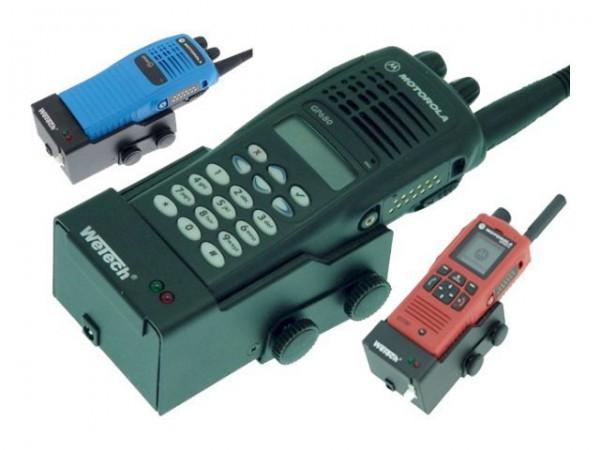 WeTech WTC620 - Ladestand für Two-Way-Radio - für Motorola GP1280, GP320, GP340, GP380, GP640, GP680