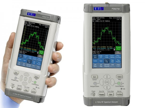TTi PSA 2702 USC Spectrum Analyzer 2.7 GHz