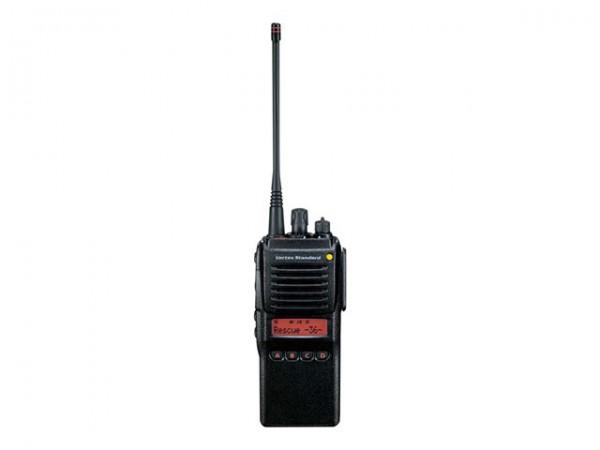 Vertex VX-925E FuG11b BOS HFG + Akku 2.300mAh Typ FNB-V87LIA + Antenne 161-174MHz Typ ATV-8C BOS