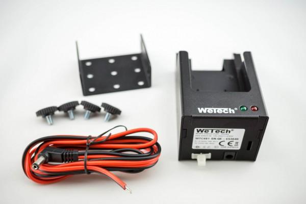 Wetech Ladehalterung WTC 681 für Sepura STP8/9000 12/24V