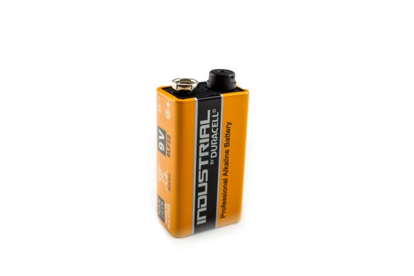 Duracell Industrial 9V Block-Batterie Lithium